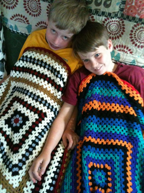 Blanket boys